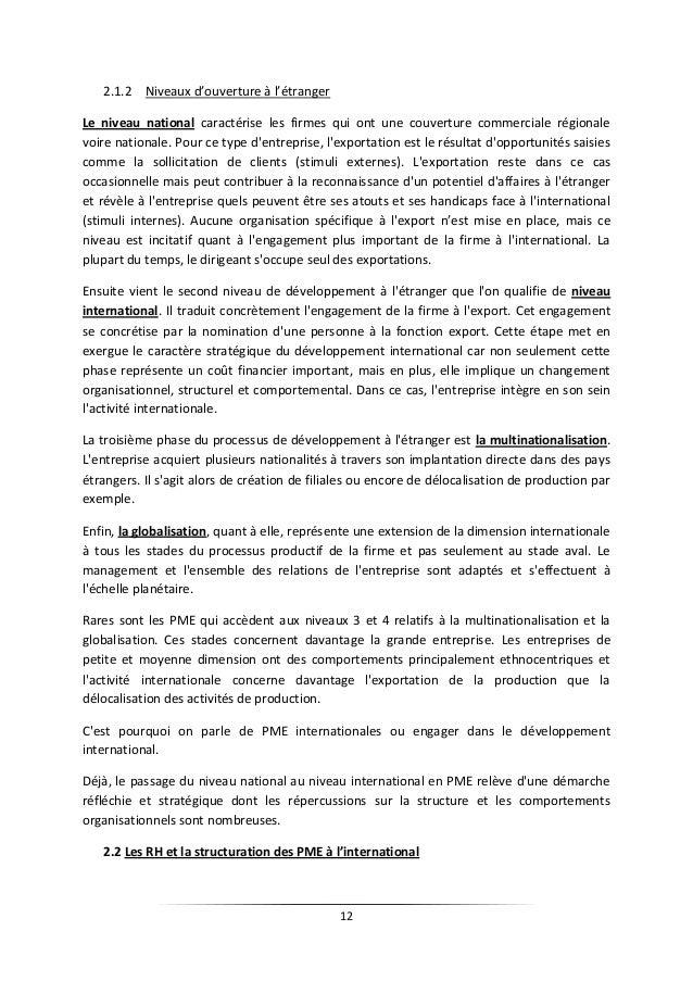 gestion des ressources humaines dans les pme au maroc