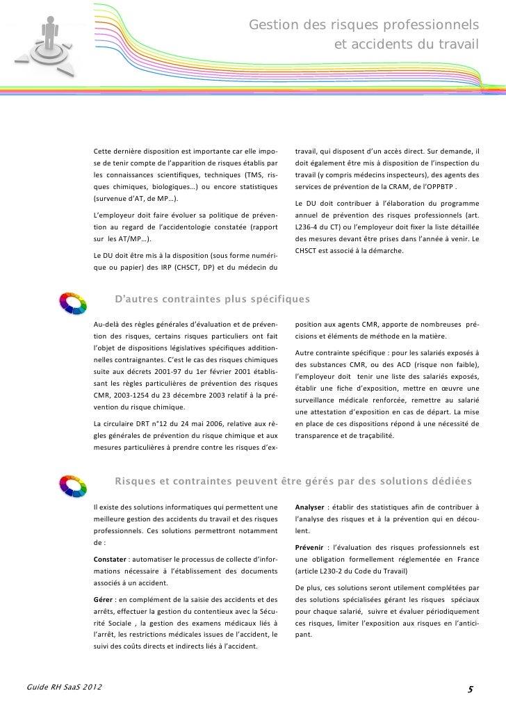 gestion des risques professionnels pdf