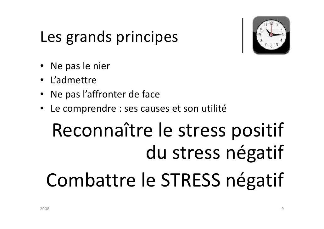 la gestion du stress pdf