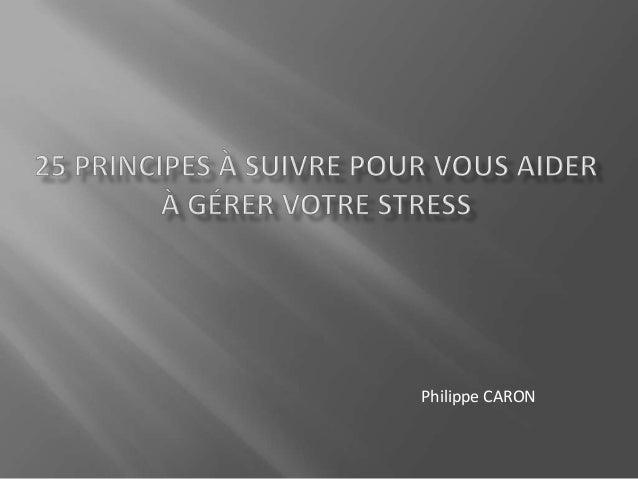 Philippe CARON