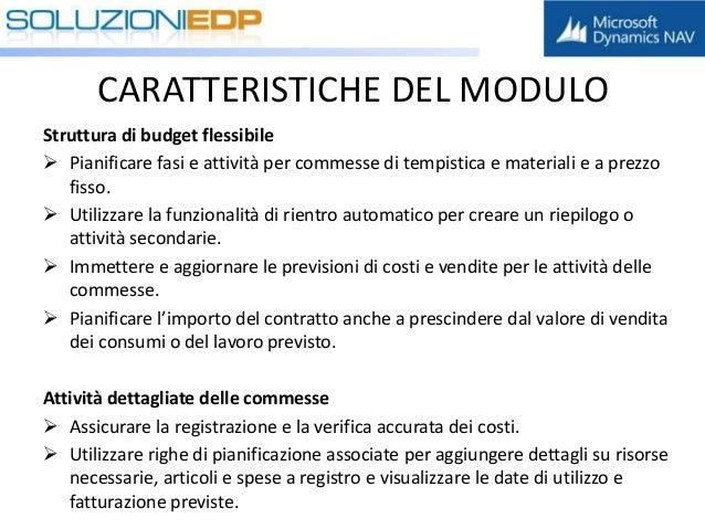 Gestione commesse pm nav 2016 - Costo registrazione contratto ...