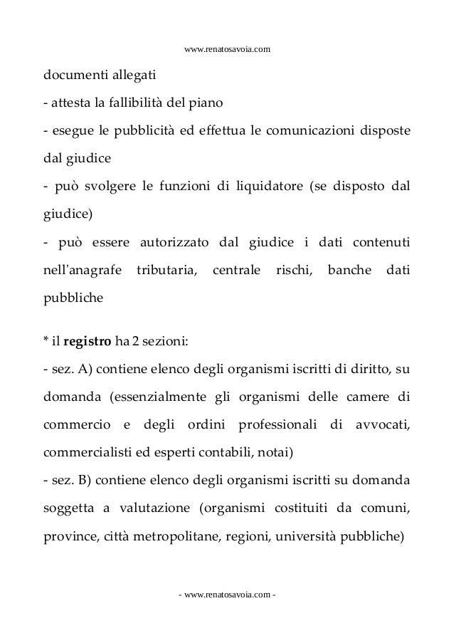 Gestione crisi sovraindebitamento appunti/3 Slide 2