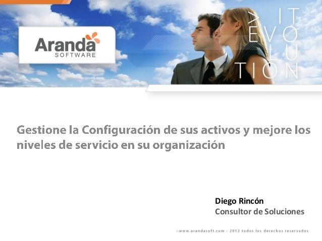 Diego Rincón Consultor de Soluciones