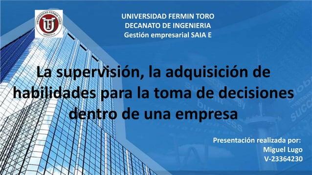 Presentación realizada por: Miguel Lugo V-23364230 UNIVERSIDAD FERMIN TORO DECANATO DE INGENIERIA Gestión empresarial SAIA...