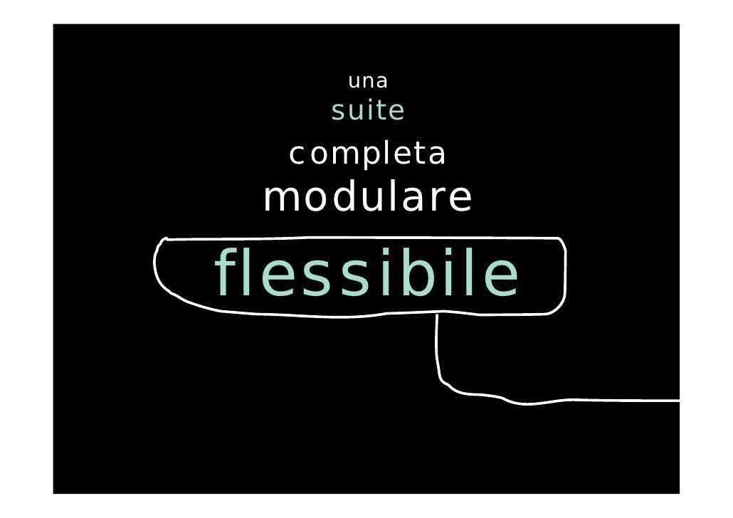 Gestione personale for Suite modulare suocera