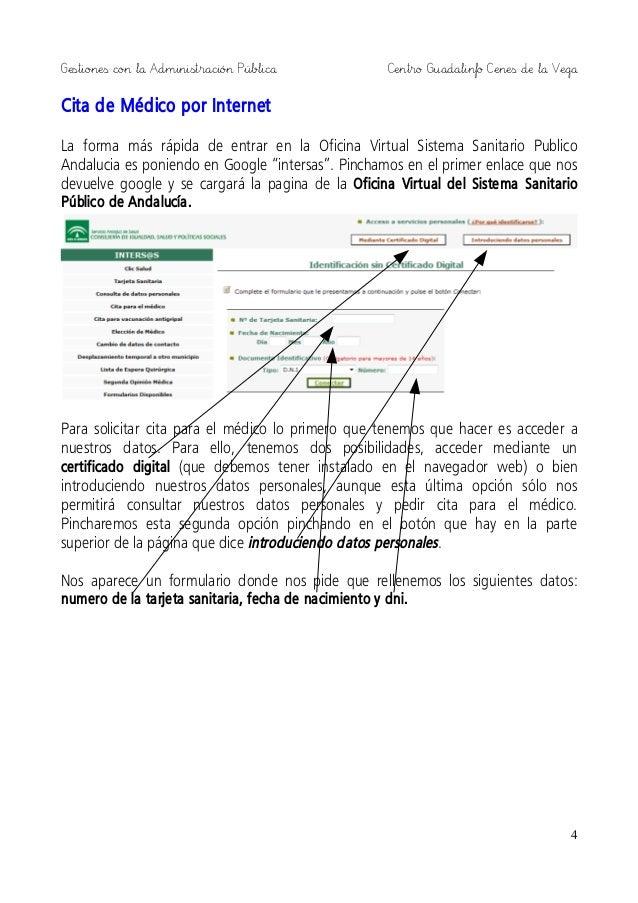 Gestiones con la administraci n publica 2014 - Oficina virtual andalucia ...