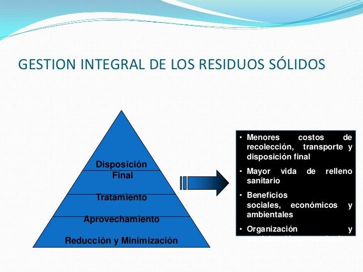 Gestion integral de residuos solidos en colombia - Gestion integral de proyectos ...
