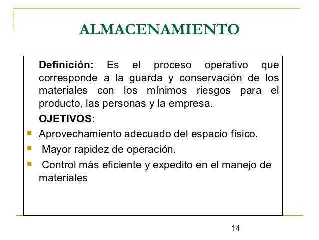 Gestion Logistica Almacenes