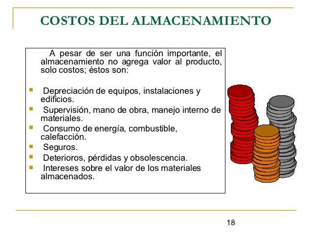 Gestion logistica almacenes for Almacen el costo muebleria