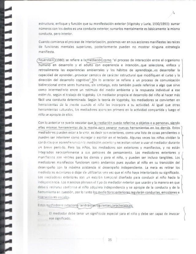 ' ' I  estuctura,  enfoque y funcion que su manifestation exterior (Vigotsky y Luria,  1930/1993):  sumar  ' r xneros con ...