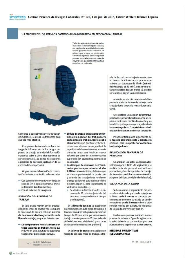 arteca Gestión Práctica de Riesgos Laborales,  N' 127, l de jun.  de 2015, Editar Wolters muwer España  '> l EDICIÓN DE LO...