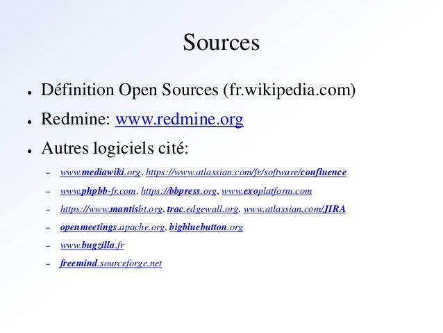 Gestion de projet et les outils open source for Architecture modulaire definition