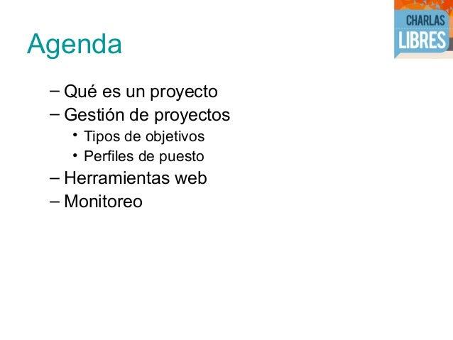 Gestón de un proyectos web Slide 2