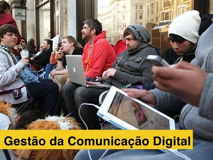 Gestão da Comunicação Digital