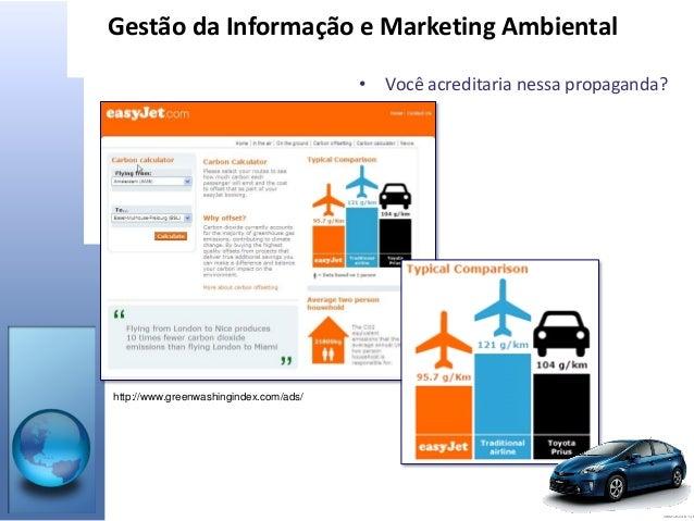 Gestão da Informação e Marketing Ambiental Slide 3