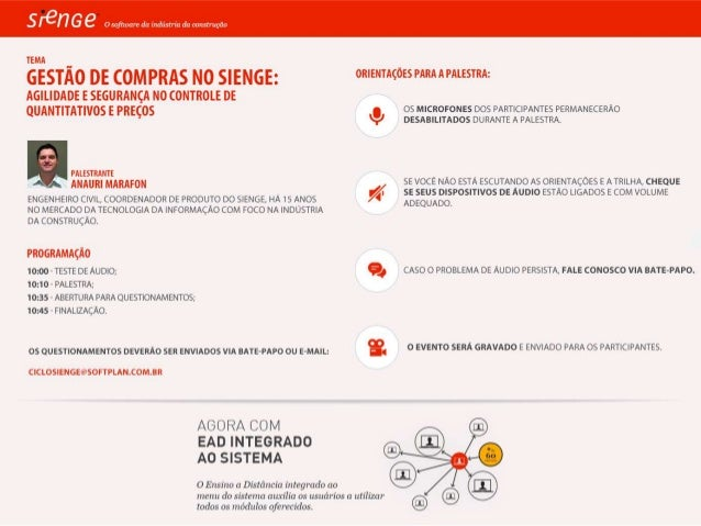GESTÃO DE COMPRAS NO SIENGE: AGILIDADE E SEGURANÇA NO CONTROLE DE QUANTITATIVOS E PREÇOS