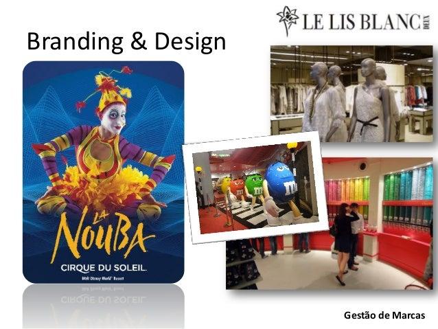 Branding & Design  Gestão de Marcas