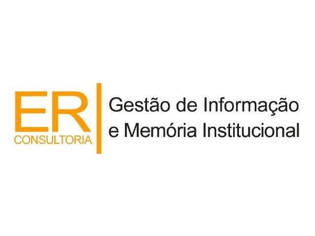 GestãoDocumental Hoje, o volume de informações produzido, ultrapassa em muito as possibilidades de organização, guarda e d...