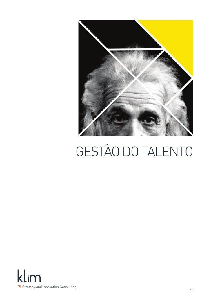 GESTÃO DO TALENTO                /1