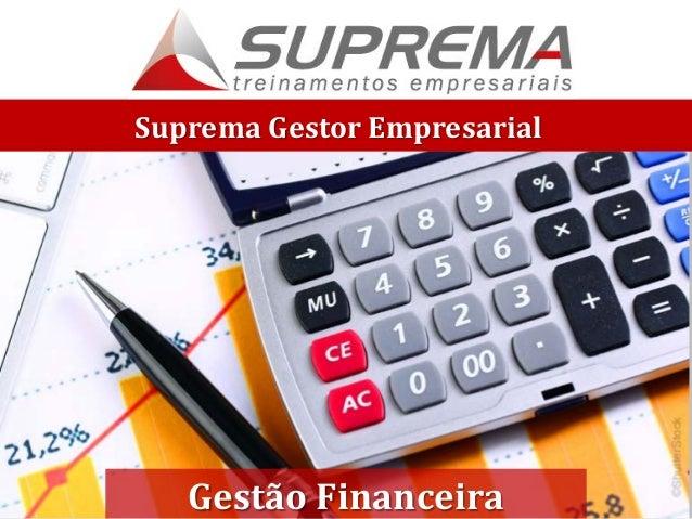 Suprema Gestor Empresarial Gestão Financeira