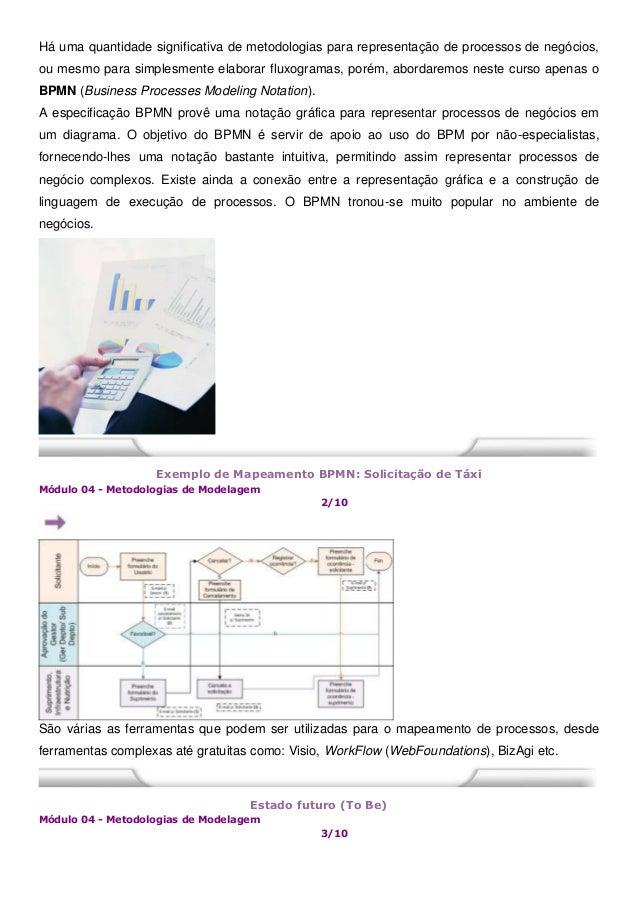 Há uma quantidade significativa de metodologias para representação de processos de negócios, ou mesmo para simplesmente el...