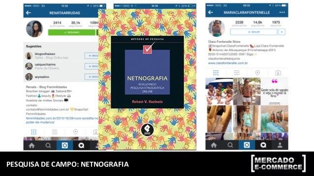 MODELO  DE  PERSONA  COM  BASE  EM  NETNOGRAFIA   Camila  Ribeiro   Dados  quantavos   Dados  qual...
