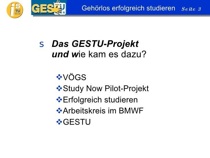 GESTU Info Abend   2010-06-09  Slide 3