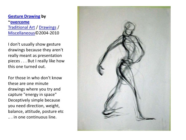 Gesture Drawing - Introduction