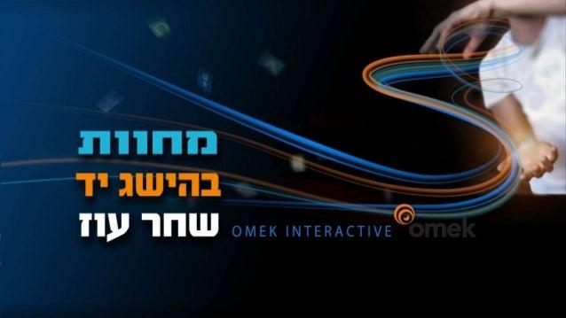 Gestures within reachShachar OzOmek interactive