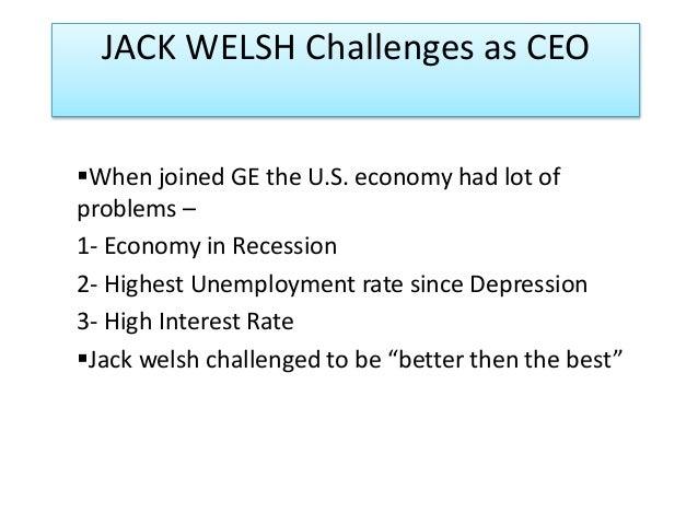 ge's two decade transformation jack welsh's 1 ge's two decade transformation team globalization case analysis ge's two  decade transformation: jack welch's leadership yasmine abdo al-kouraishi.