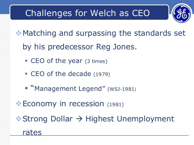 ges two-decade transformation: jack welchs leadership essay Get access to jack welch leadership and it impact on ge essays only from anti essays listed results 1 ges two-decade transformation: jack welchs leadership.