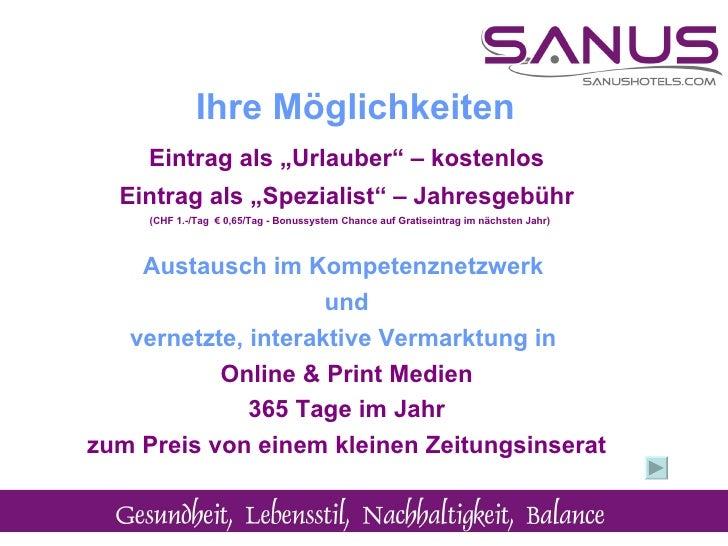 """Eintrag als """"Urlauber"""" – kostenlos Eintrag als """"Spezialist"""" – Jahresgebühr (CHF 1.-/Tag  € 0,65/Tag - Bonussystem Chance a..."""