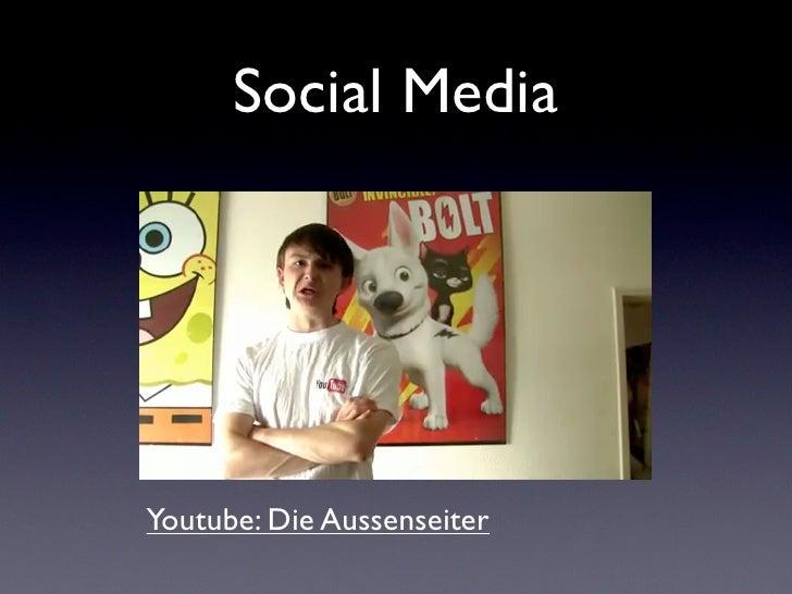 Social MediaYoutube: Die Aussenseiter