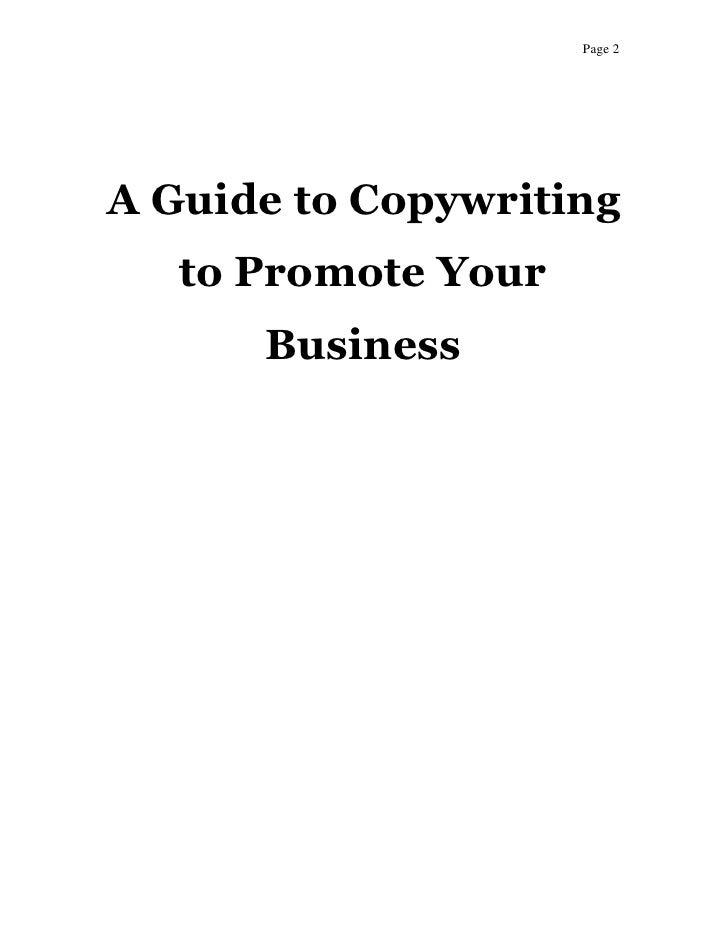 Get AGuideToCopywriting-25osc today.pdf Slide 2