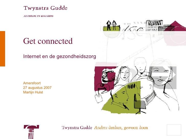 Get connected Internet en de gezondheidszorg