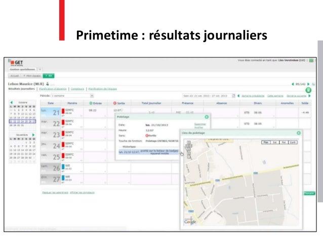 Primetime : résultats journaliers