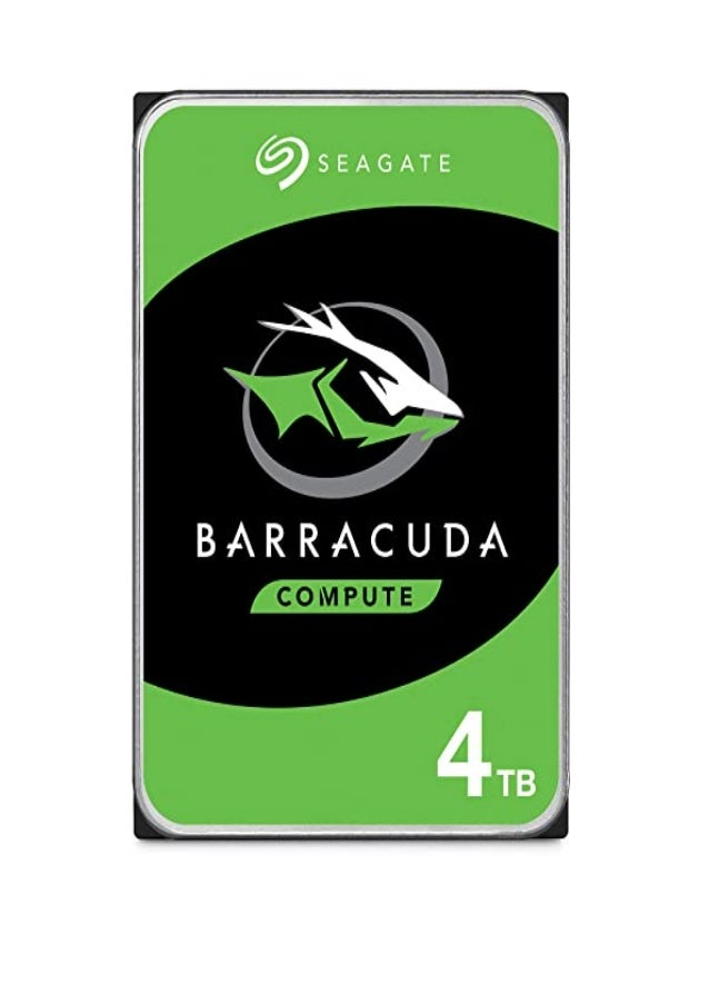 get Seagate BarraCuda 4 TB 2.5 Inch Internal Hard Drive (15 mm Form Factor, 128 MB Cache SATA 6 GB/s Up to 140 MB/s) Detai...