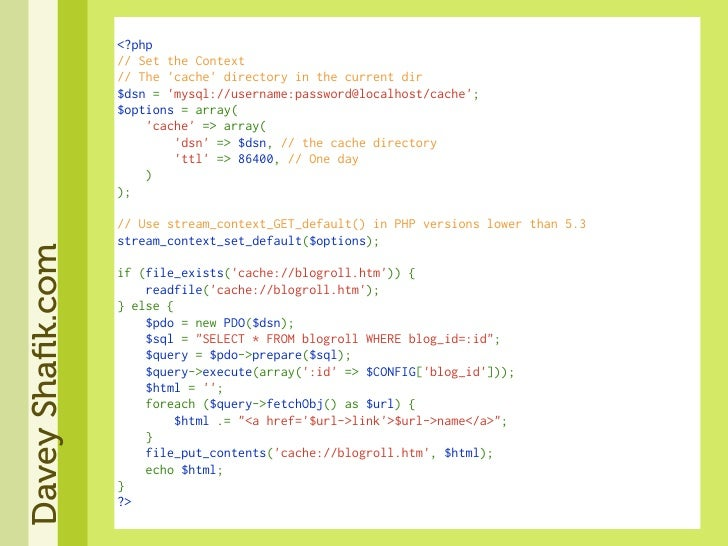 <?php                   //SettheContext                   //The'cache'directoryinthecurrentdir                  ...