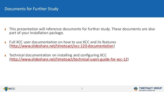 5 This presentation will reference documents for further study. These documents are also part of your installation package...