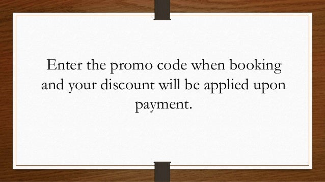 To get the promo code visit https://bit.ly/2CEIIAd