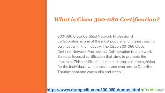Get 300-080 Cisco CCNP Wireless Collaboration Exam Practice
