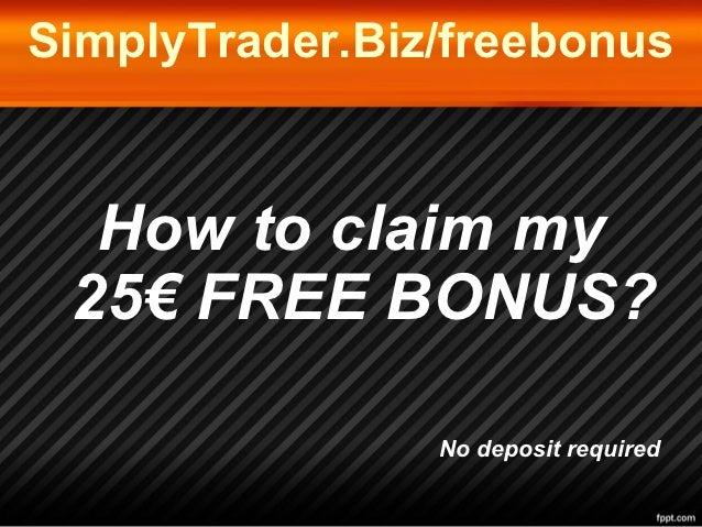How to Apply for No Deposit Forex Bonus