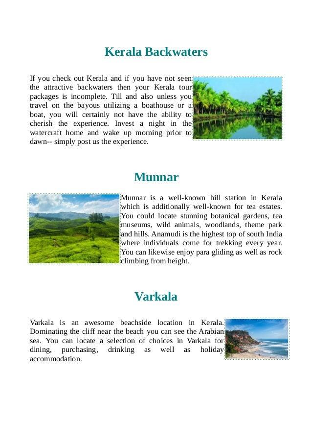 Get affordable kerala tour packages Slide 2