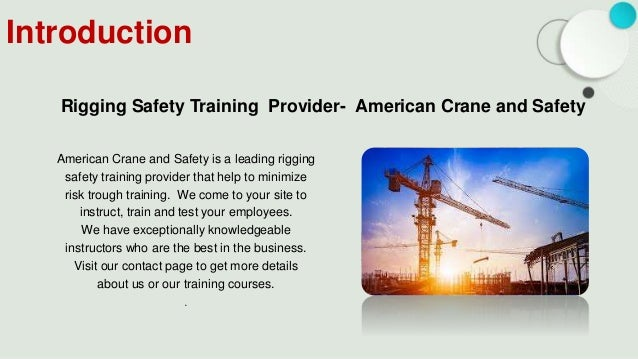 Get Affordable OSHA Rigging and Signal Training