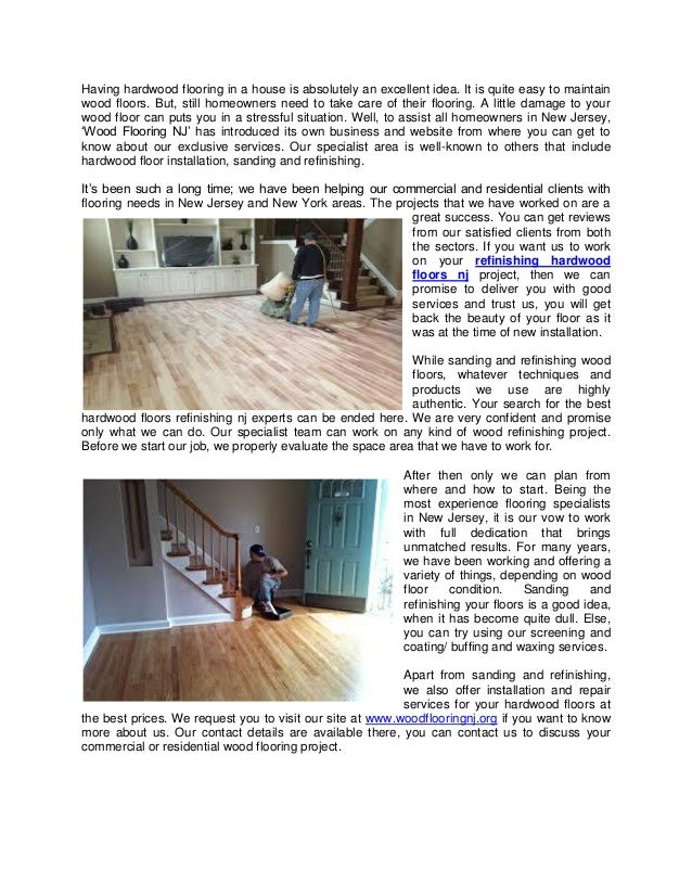 Get Affordable Refinishing Services To Improve Your Hardwood Floors A