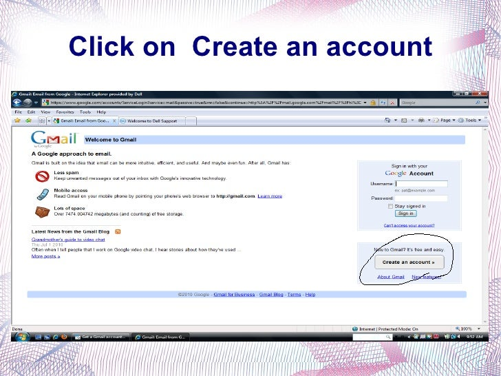how to get an gmail account password