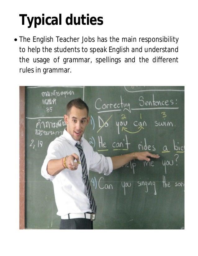 Get a Job and Build a Career as an English Teacher