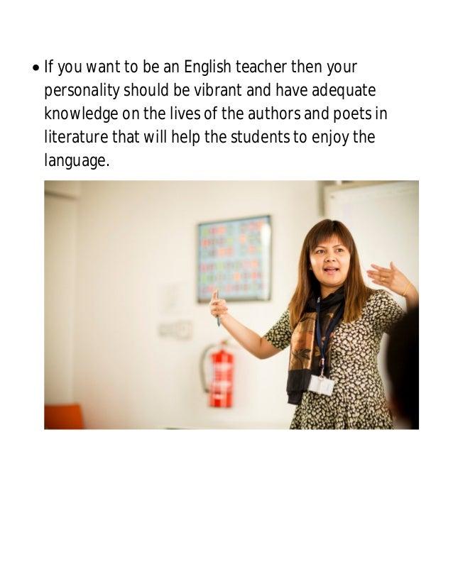 how to get a job teaching english
