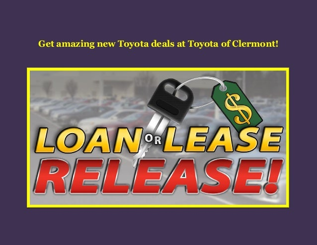 get amazing new toyota deals at toyota of clermont. Black Bedroom Furniture Sets. Home Design Ideas