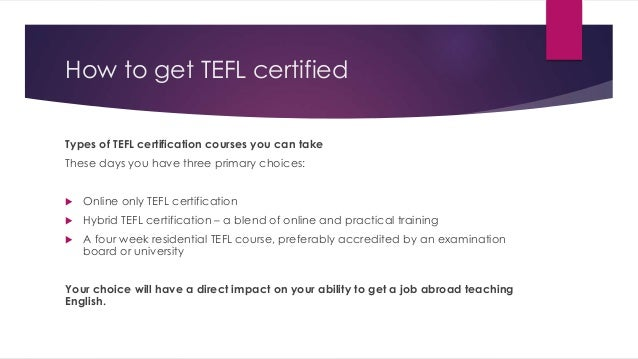 get an english teaching job abroad – get tefl certified